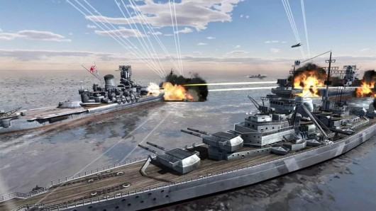 World Warships Combat для Android  - уничтожай вражеские корабли