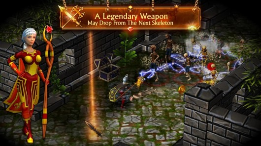 Mage and Minions для Samsug Galaxy - легендарное оружие