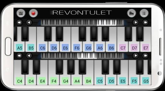 Приложение Perfect Piano для Android - игра на органе