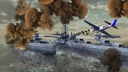 World Warships Combat для Android - уничтожь вражескую авиацию