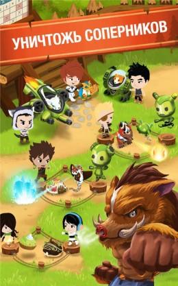 Игра Battle Camp для Samsung Galaxy - битвы против других игроков