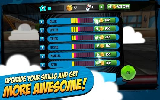 Epic Skater для Samsung Galaxy - улучшай навыки