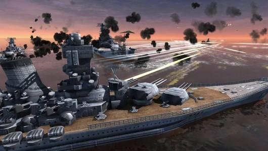 World Warships Combat для Android - морские баталии