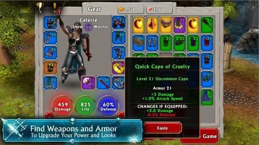 Mage and Minions для Samsug Galaxy - лучшее оружие