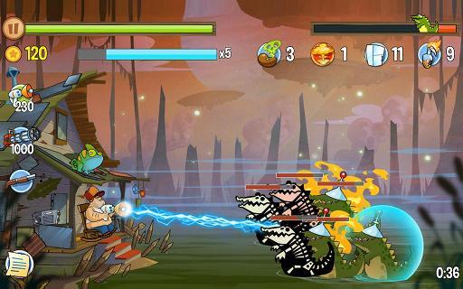 Игра Swamp Attack - геймплей