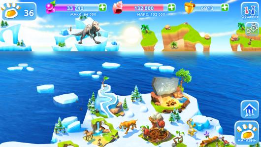 Ледниковый период. Приключения для Samsung Galaxy - построй свою деревню