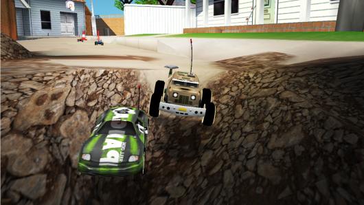 Игра RE-VOLT 2 : MULTIPLAYER для Samsung Galaxy - гонка на трассе с водосточной трубой