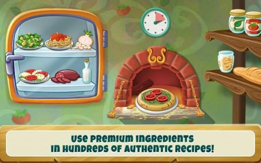 Специальные ингридиенты в игре Kitchen Scramble для Android