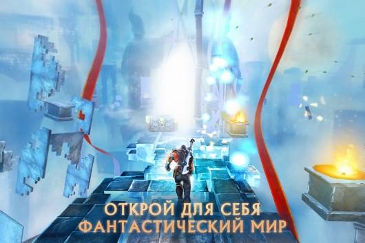 Игра Бегущая Тень для Samsung Galaxy - Тень бежит по мистическому мосту