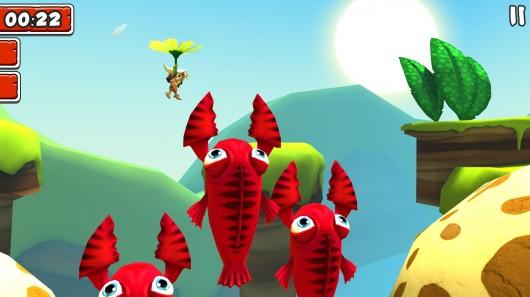 Игра Manuganu 2 для Samsung Galaxy: летим на цветке