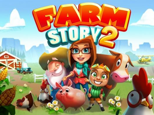 Экран загрузки игры История фермы 2 для Samsung Galaxy