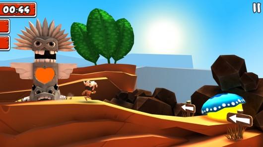 Игра Manuganu 2 для Samsung Galaxy: бежим по пустыне