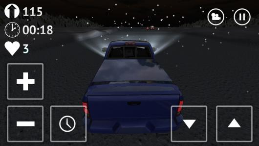 Russian Traffic Racer - снежные вечера на автомобиле