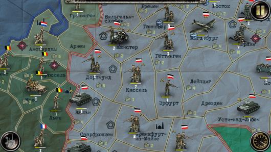 ВОВ Финал: Стратегия и Тактика - тактическая расстановка войск