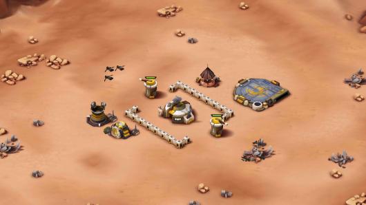 Звездные войны: Вторжение - строительство военной базы