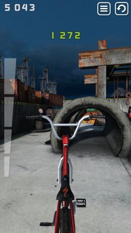 Touchgrind BMX - выезды на сложные трассы