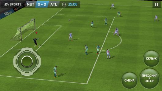 FIFA 15 Ultimate Team -  суровый прессинг команд