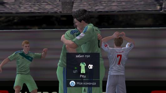 FIFA 15 Ultimate Team - уникальное празднование голов