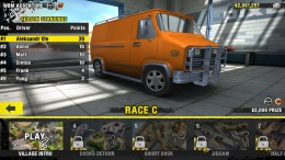 Reckless Racing 3 - выбор гонки