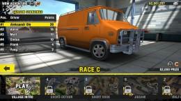 Reckless Racing 3 - выбор гонки
