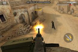 Modern Combat 2: Black Pegasus - пулемет