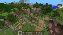 Minecraft PE - деревня