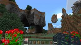Minecraft PE - горы