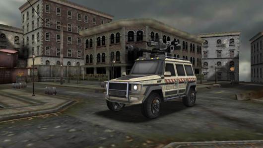 Zombie Road 3D - защищенный автомобиль