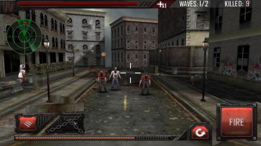 Zombie Road 3D - множество врагов