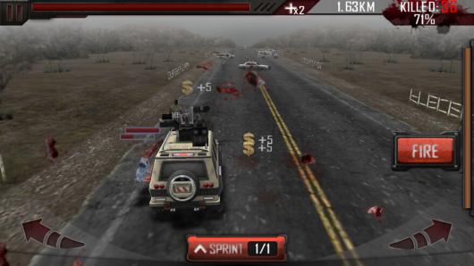Zombie Road 3D - смертельное путешествие