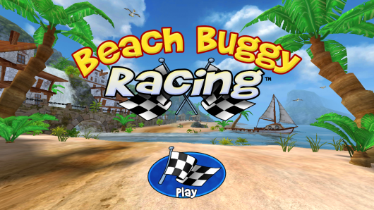 Beach Buggy Racing - множество режимов