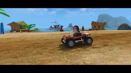 Beach Buggy Racing - отличная гарфика