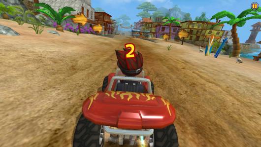 Beach Buggy Racing - стремительный старт