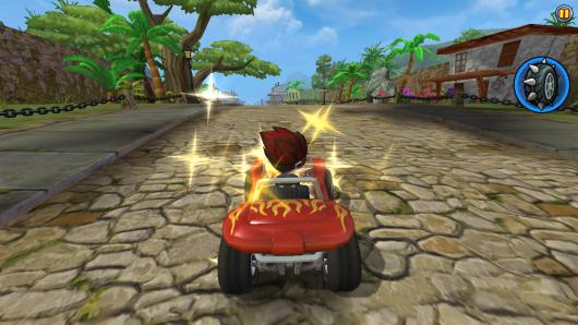 Beach Buggy Racing - множество бонусов