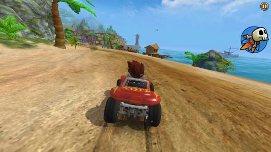 Beach Buggy Racing - стремительные гокни