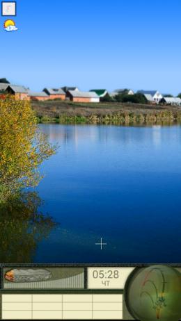 Мобильная русская рыбалка - умиротворяющая обстановка