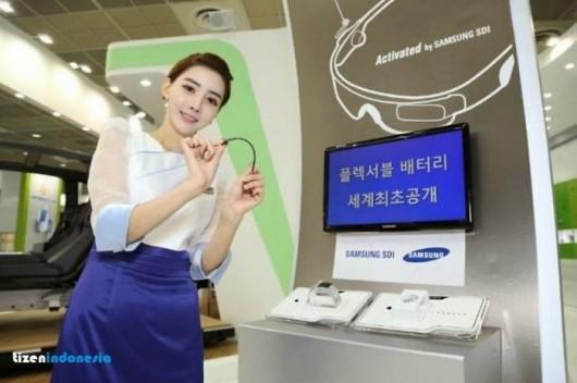 Изогнутые аккумуляторы от Samsung - новшество