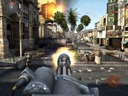 Modern Combat 3: Fallen Nation - пулемет
