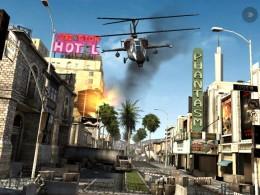 Modern Combat 3: Fallen Nation - вертолет