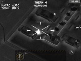 Modern Combat 3: Fallen Nation - тепловизер