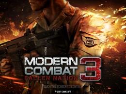 Modern Combat 3: Fallen Nation - заставка