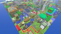 Minecraft PE - город