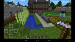 Minecraft PE - огород