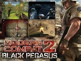 Modern Combat 2: Black Pegasus - заставка