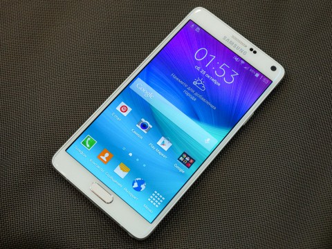 Samsung Galaxy Note 4  - телефон бизнес-класса