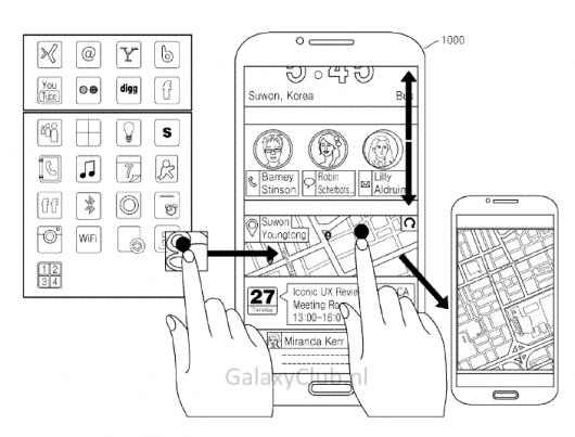 Новая оболочка Samsung - первые макеты