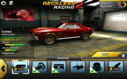 Reckless Racing 2 - гараж