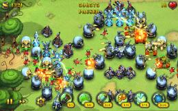 Fieldrunners HD - геймплей