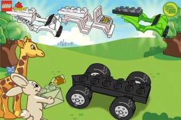 LEGO® DUPLO® ZOO - сборка машины