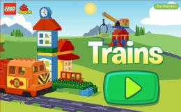 LEGO® DUPLO® Train - меню